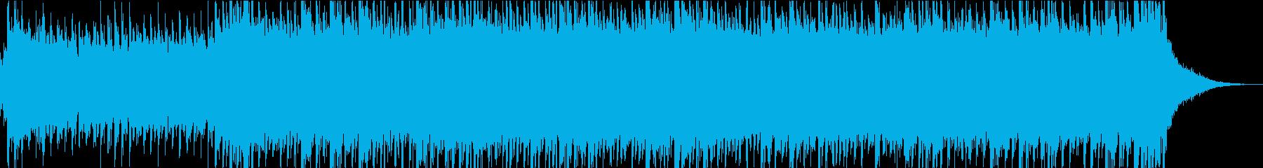 和風のテクノポップの再生済みの波形
