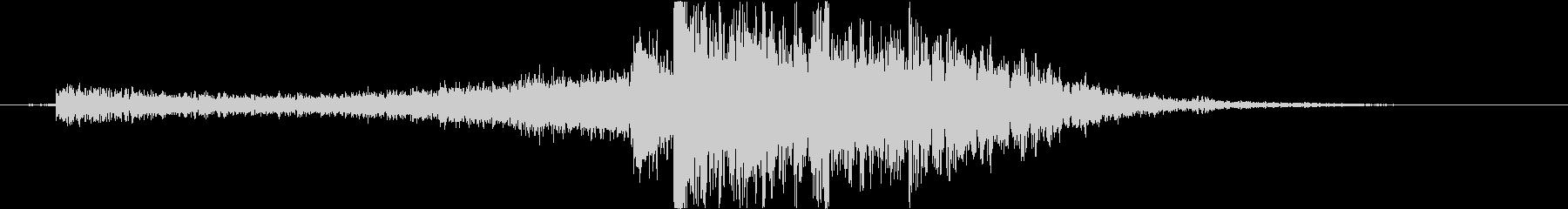 水魔法の音2(大津波で攻撃するイメージ)の未再生の波形
