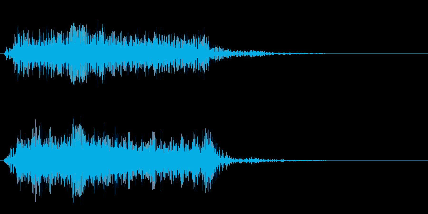 【警報】アラート 警告 注意【サイレン】の再生済みの波形