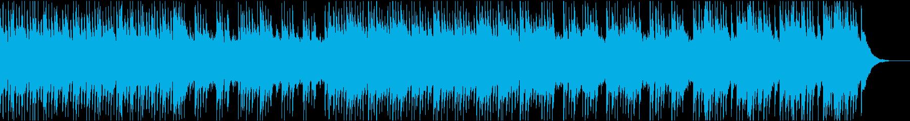 神秘的な雰囲気のケルトミュージックの再生済みの波形