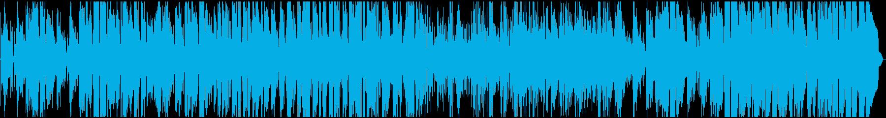 スムースジャズ、感傷的なムード、ロ...の再生済みの波形