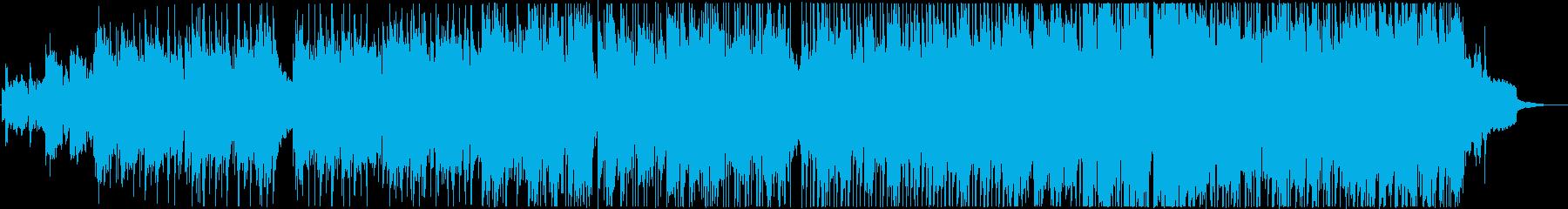 大通りのブルースの再生済みの波形