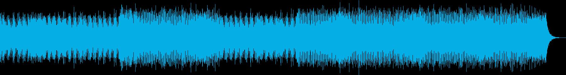 飛び上がるTranceの再生済みの波形