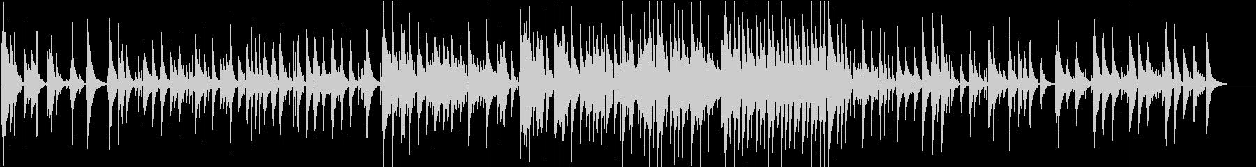 ソロのウクレレが演奏するオリジナル...の未再生の波形