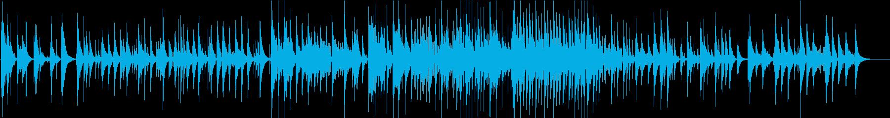 ソロのウクレレが演奏するオリジナル...の再生済みの波形