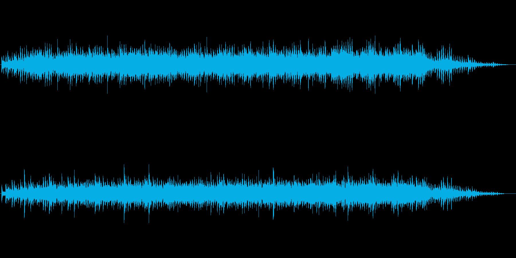 可愛い感じで幻想的なジングルの再生済みの波形