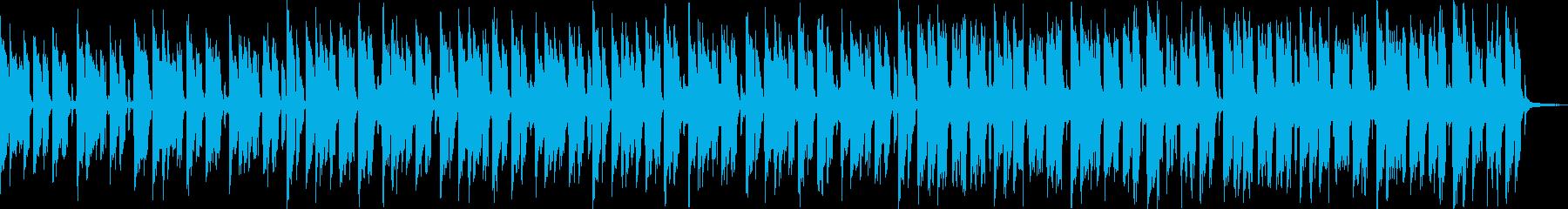【おしゃれカフェBGM】ボサノバの再生済みの波形