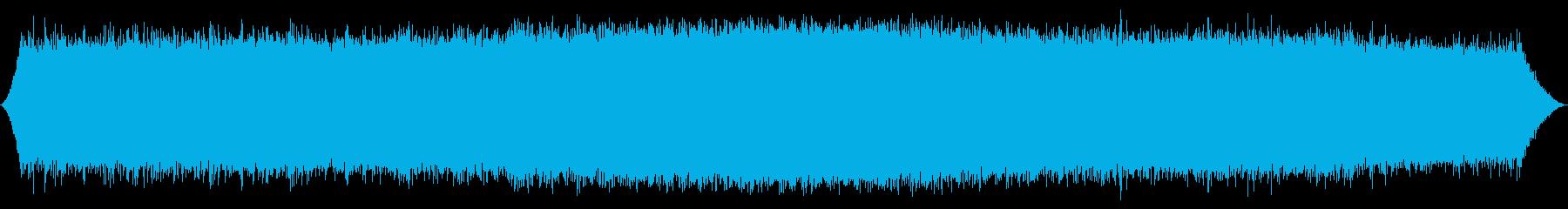 地下水噴出口:一定の明るいスプレー...の再生済みの波形