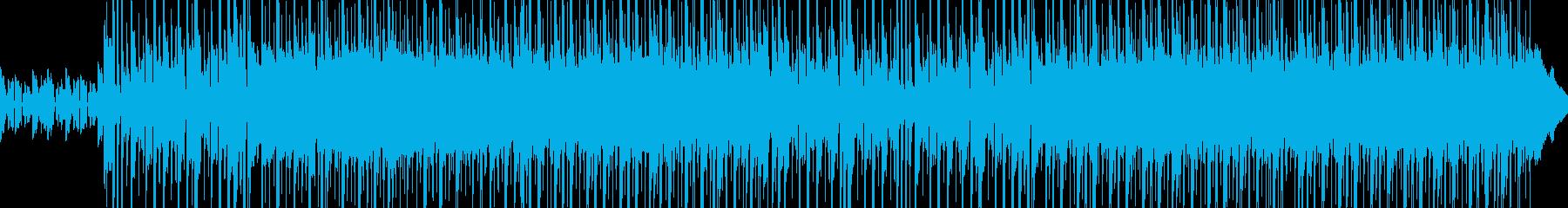 明るいやさしいおしゃれレトロなエレピの再生済みの波形