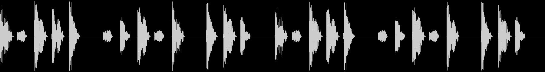 トリックアウトバージョン3の未再生の波形