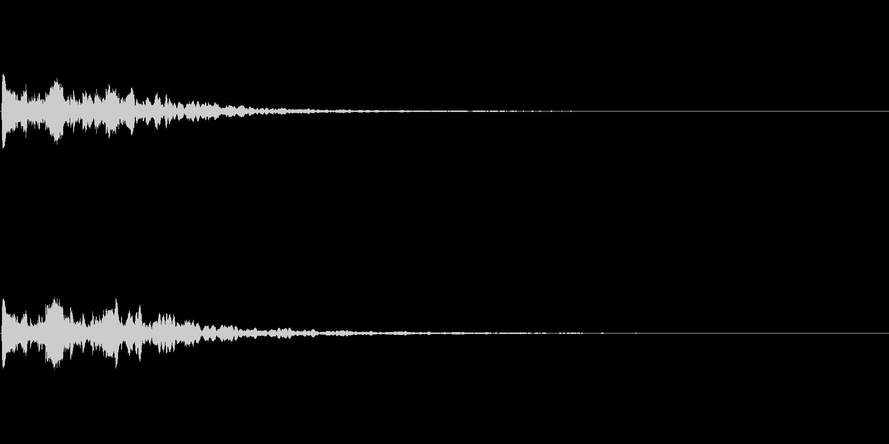 【サイバー02-2】の未再生の波形