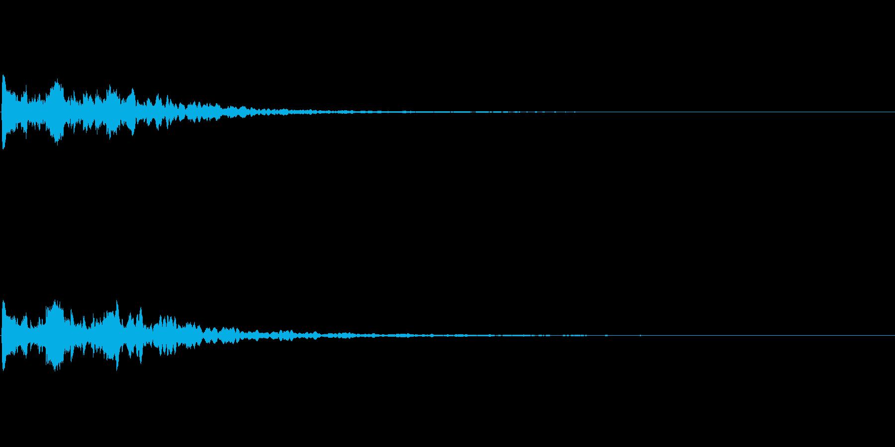 【サイバー02-2】の再生済みの波形