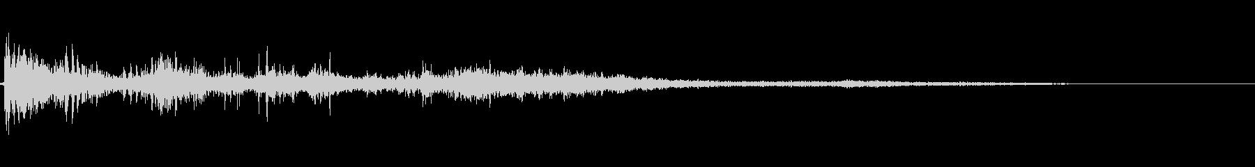 カミナリ(遠雷)-31の未再生の波形