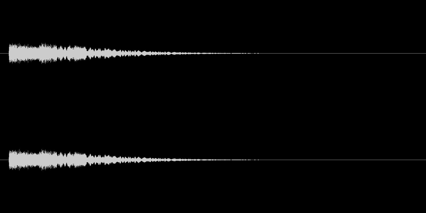 【光る09-3】の未再生の波形