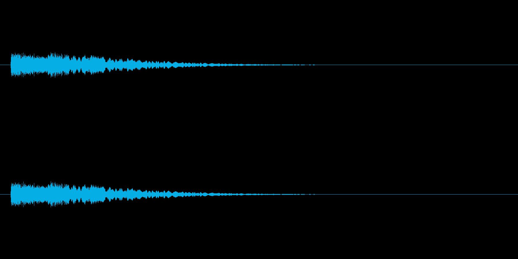 【光る09-3】の再生済みの波形