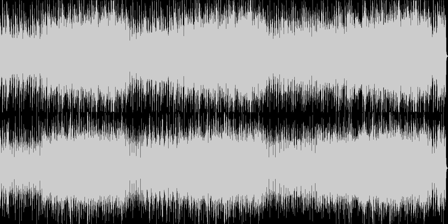 オランダ風アコーディオンオルガン花ワルツの未再生の波形