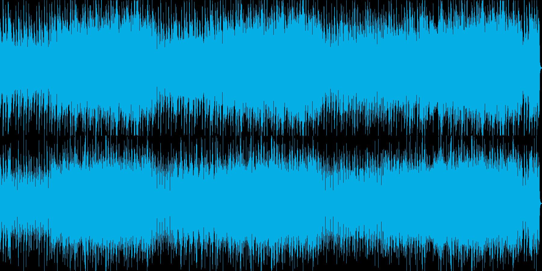 オランダ風アコーディオンオルガン花ワルツの再生済みの波形