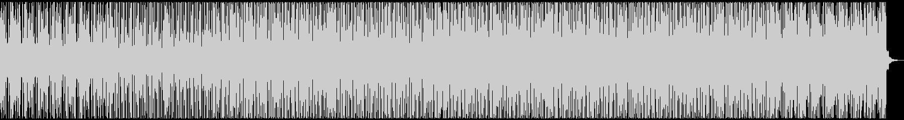 エレピとピアノを使ったDeephouseの未再生の波形