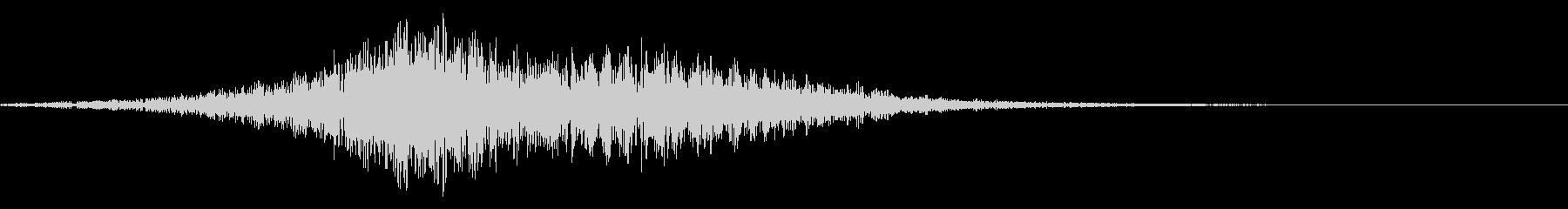 ゲームオーバー(ホラー・ノイズ)1の未再生の波形