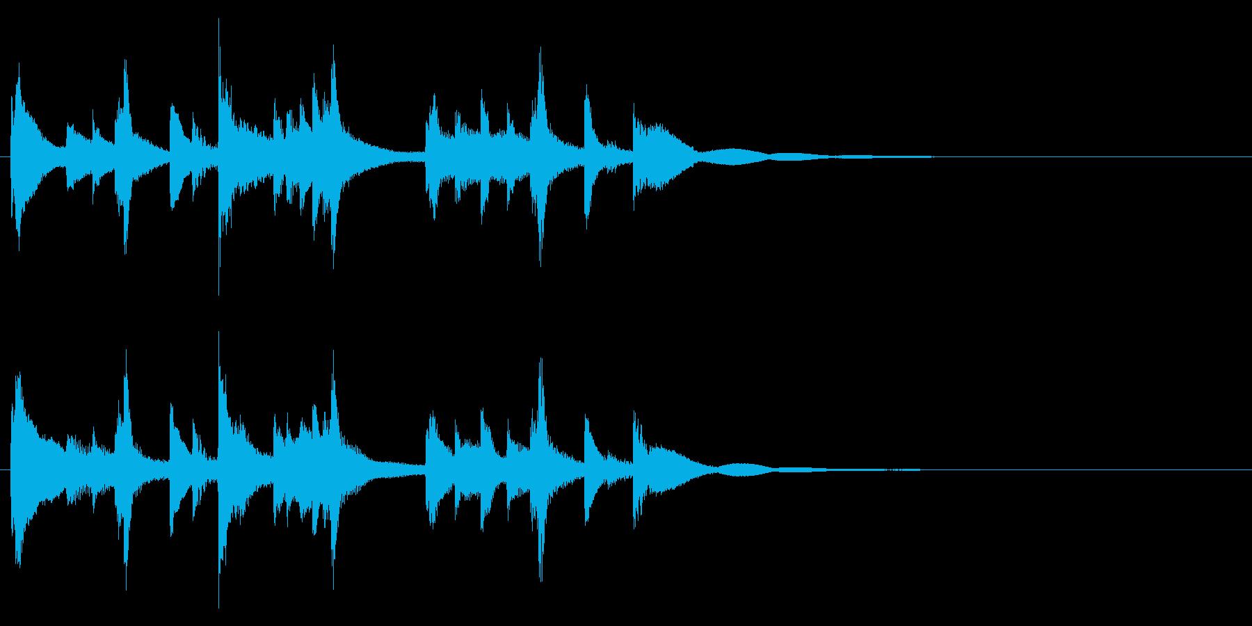 和風☆アイキャッチ3の再生済みの波形