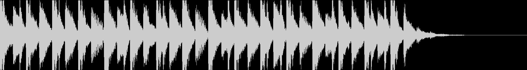 ドキドキ奇妙・ホラーミステリアスジングルの未再生の波形