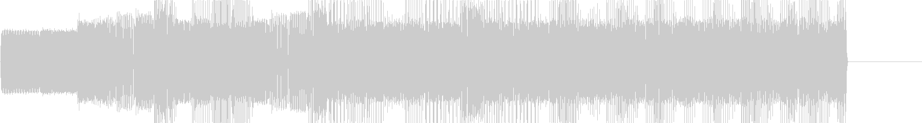 レトロゲームなチップチューンジングル12の未再生の波形