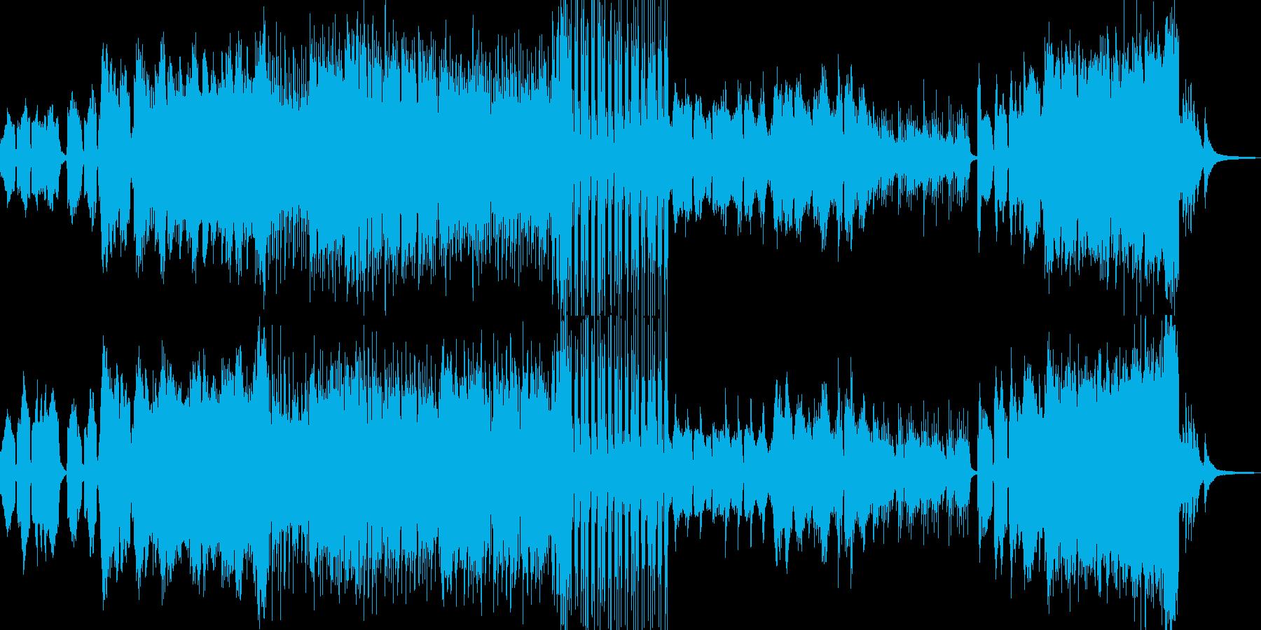 秋の風景に合うクラシック 長尺の再生済みの波形