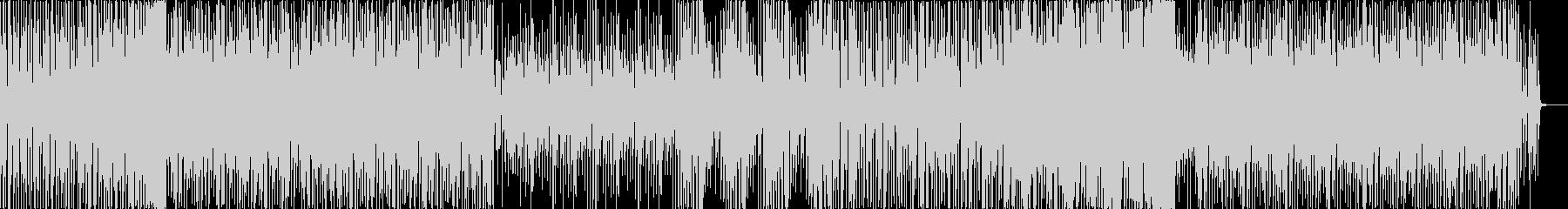 フィルターがかった懐かしめなディスコの未再生の波形