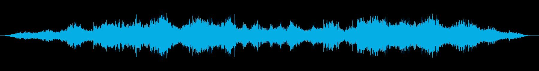 瞑想 ヨガ キラキラしたヒーリングBGMの再生済みの波形