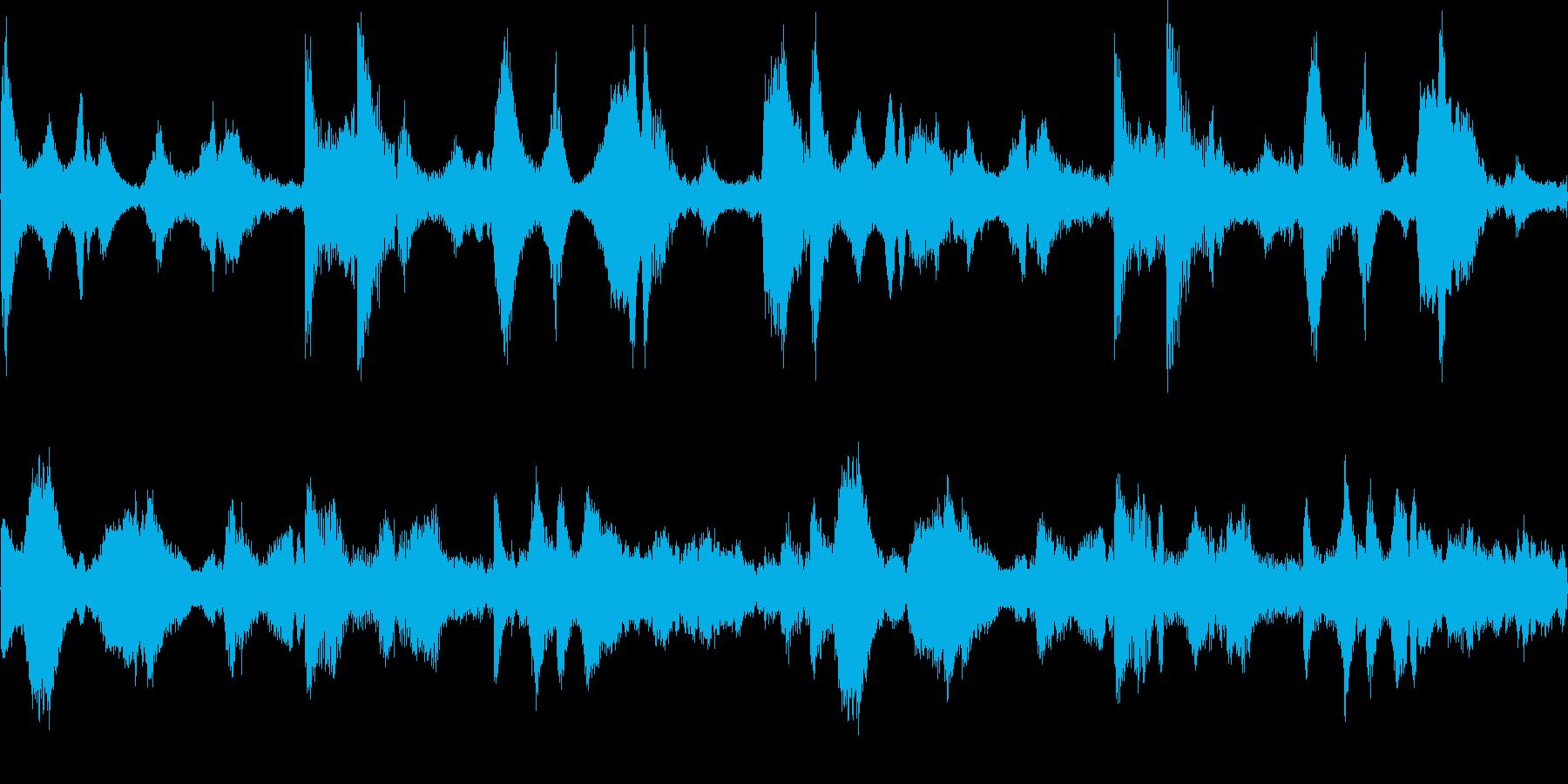 k010 アラーム音(ループ仕様)の再生済みの波形