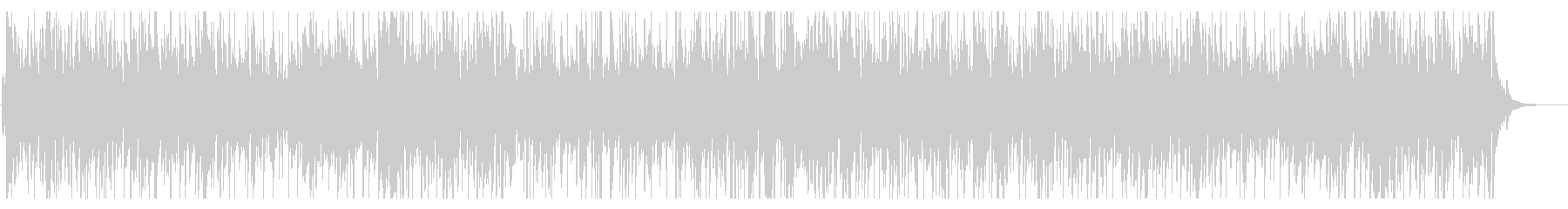 お洒落なジャズピアノトリオ28かっこいいの未再生の波形