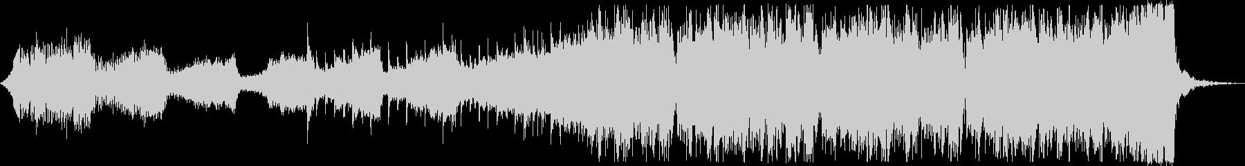 クール軽快SFストリングスEDMハウスcの未再生の波形