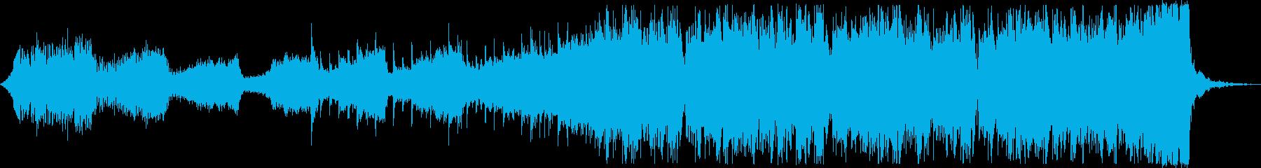 クール軽快SFストリングスEDMハウスcの再生済みの波形