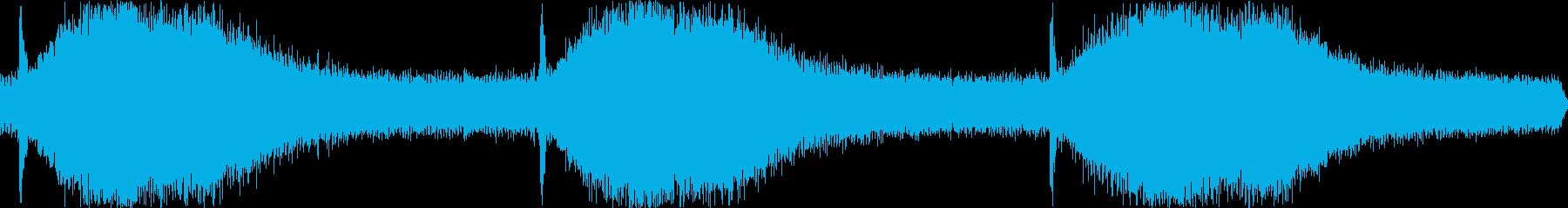 プロジェクターポンプの再生済みの波形