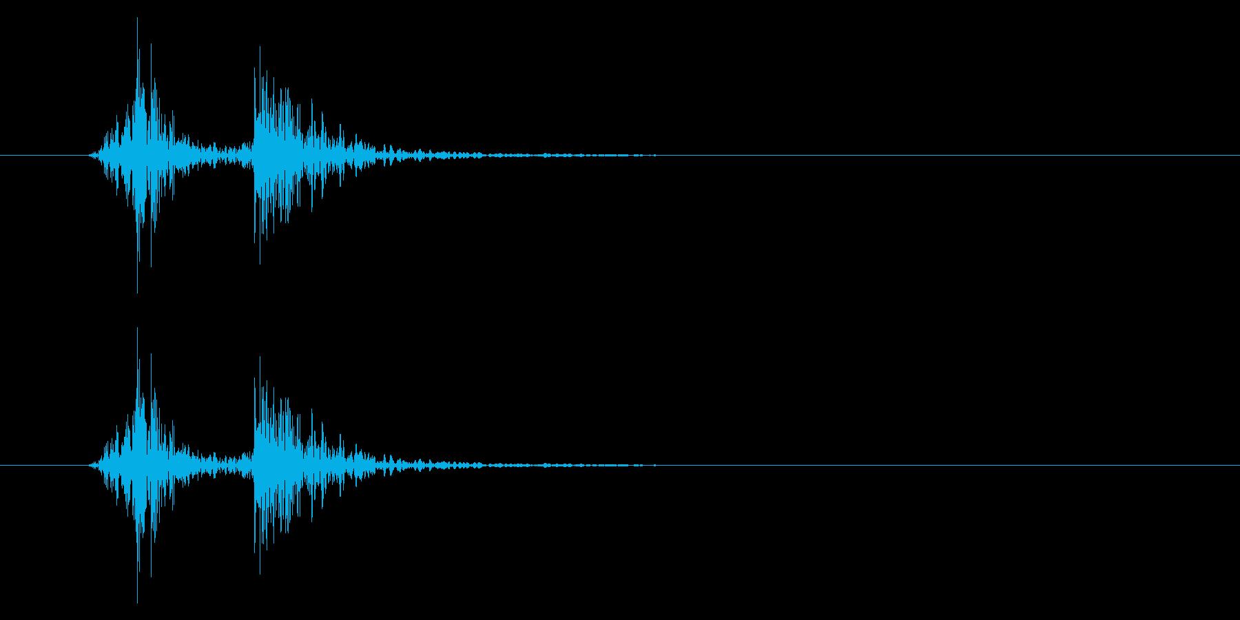車/ロック/ガチャン/鍵をかけるの再生済みの波形