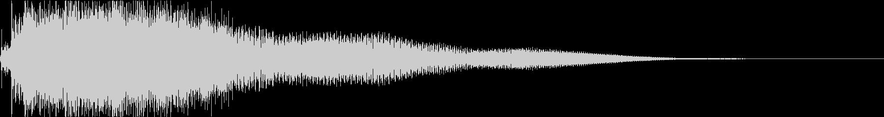 ジャラーン:アコースティックギターfの未再生の波形