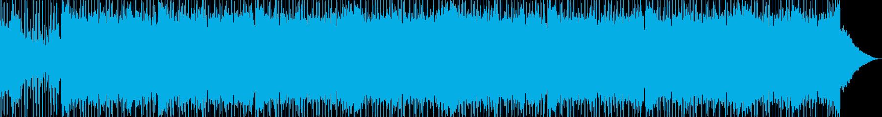 重厚 アクション 技術的な エレキ...の再生済みの波形