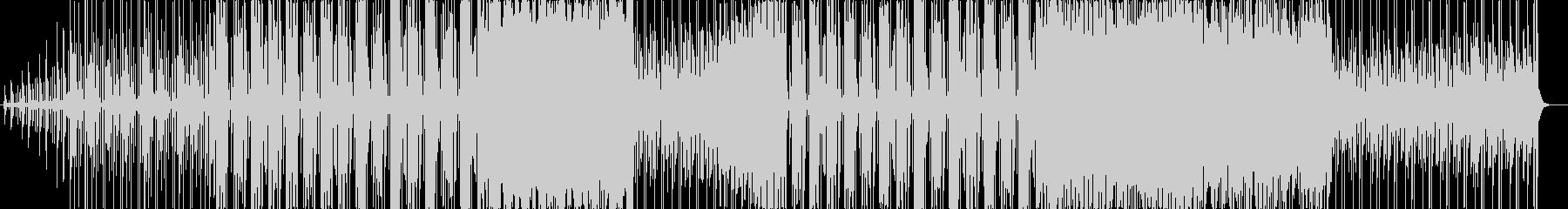 明るく爽やかなBGMの未再生の波形