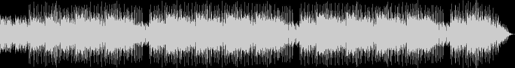 アンビエント系のヒップホップインストの未再生の波形