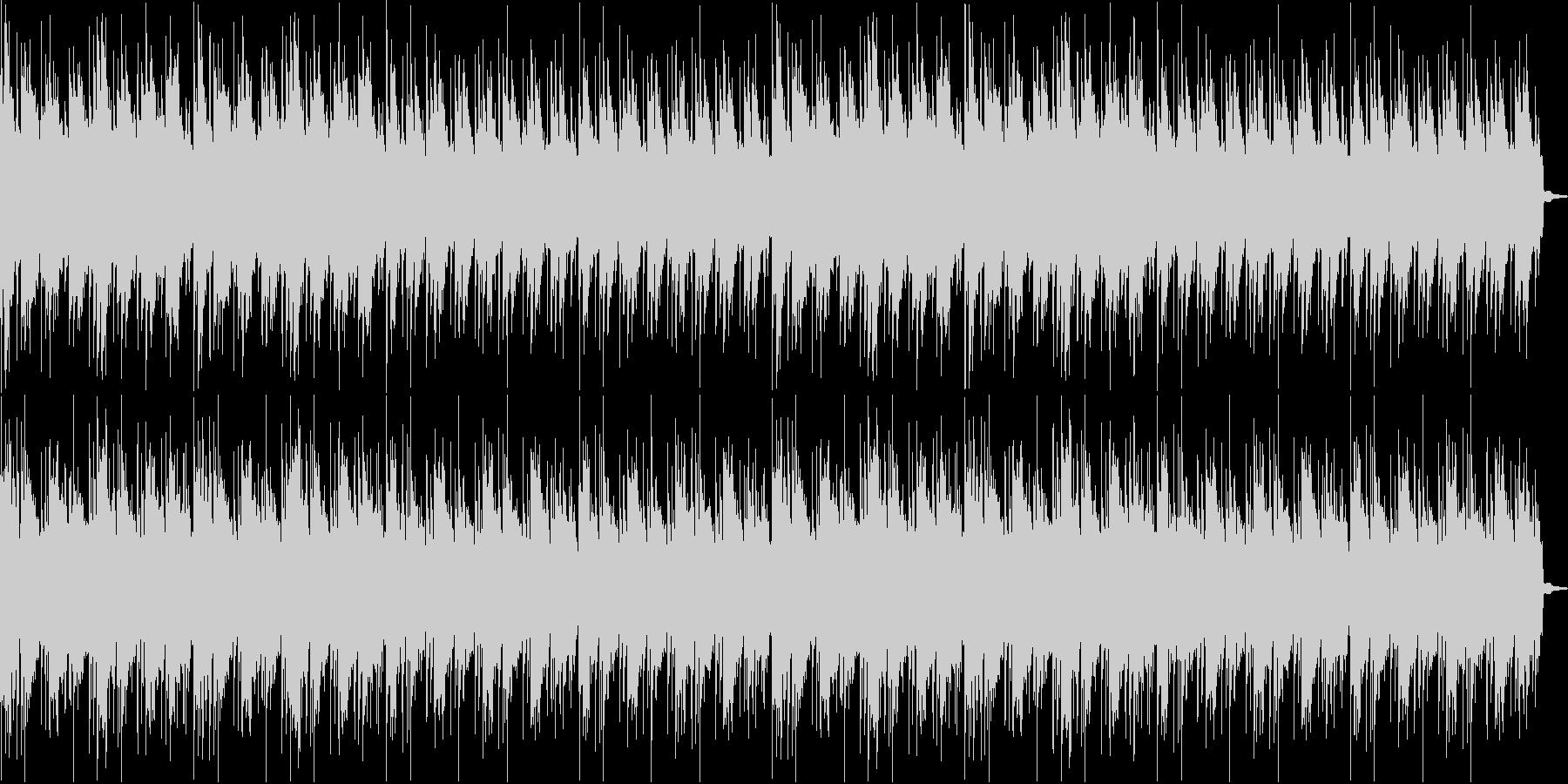 異国風サウンドの未再生の波形