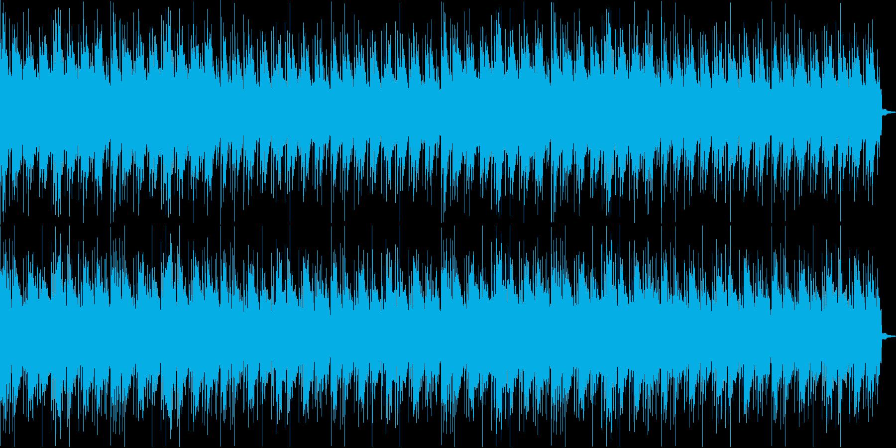 異国風サウンドの再生済みの波形
