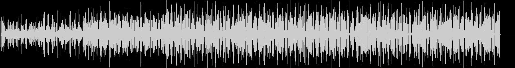 ベースのグルーブ溢れるファンク aの未再生の波形
