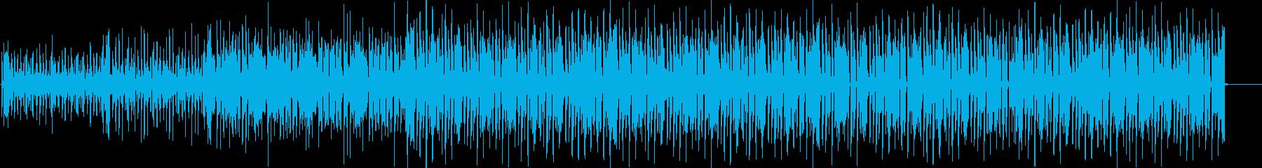 ベースのグルーブ溢れるファンク aの再生済みの波形