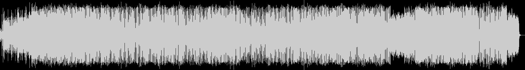 ピアノとシンセがメインのハウス風BGMの未再生の波形