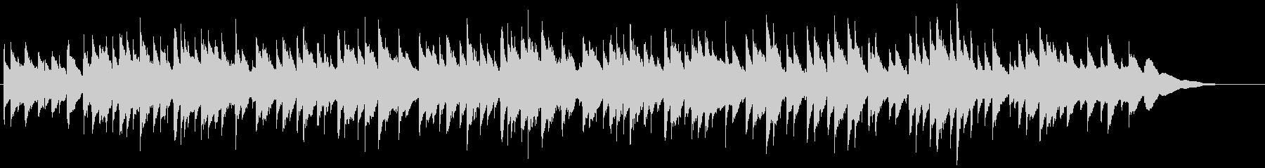 黄昏をイメージしたアコギインスト2の未再生の波形