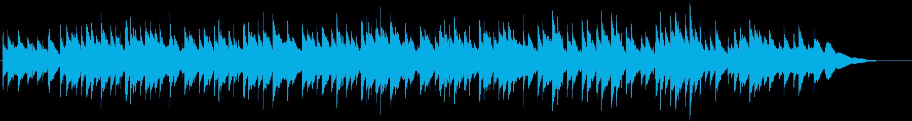 黄昏をイメージしたアコギインスト2の再生済みの波形