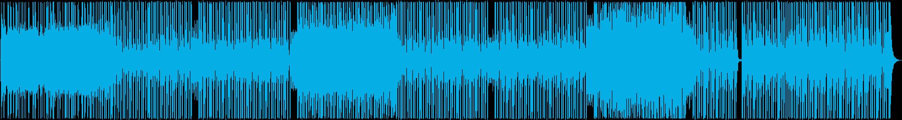 バックグラウンド。繰り返します。エ...の再生済みの波形