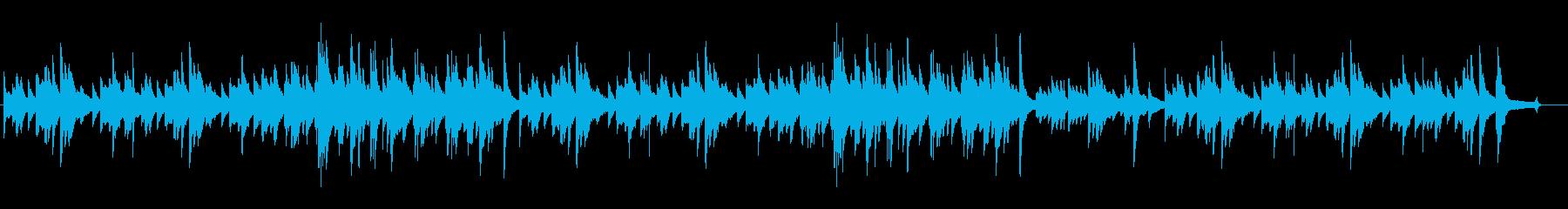 ピアノソロ 切ない感動的なバラードの再生済みの波形