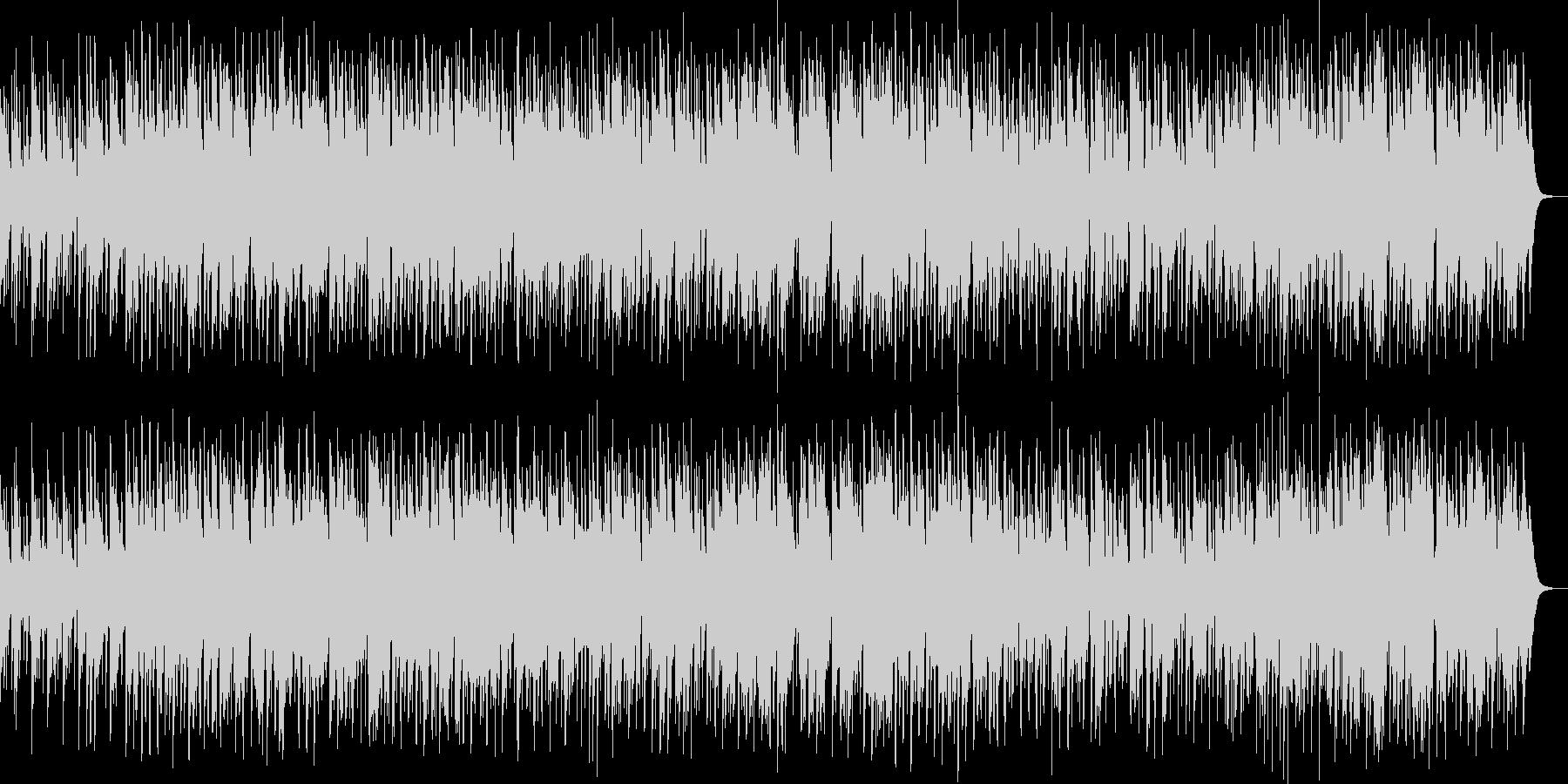 のどかな街角イメージのスロー・ジャズ の未再生の波形