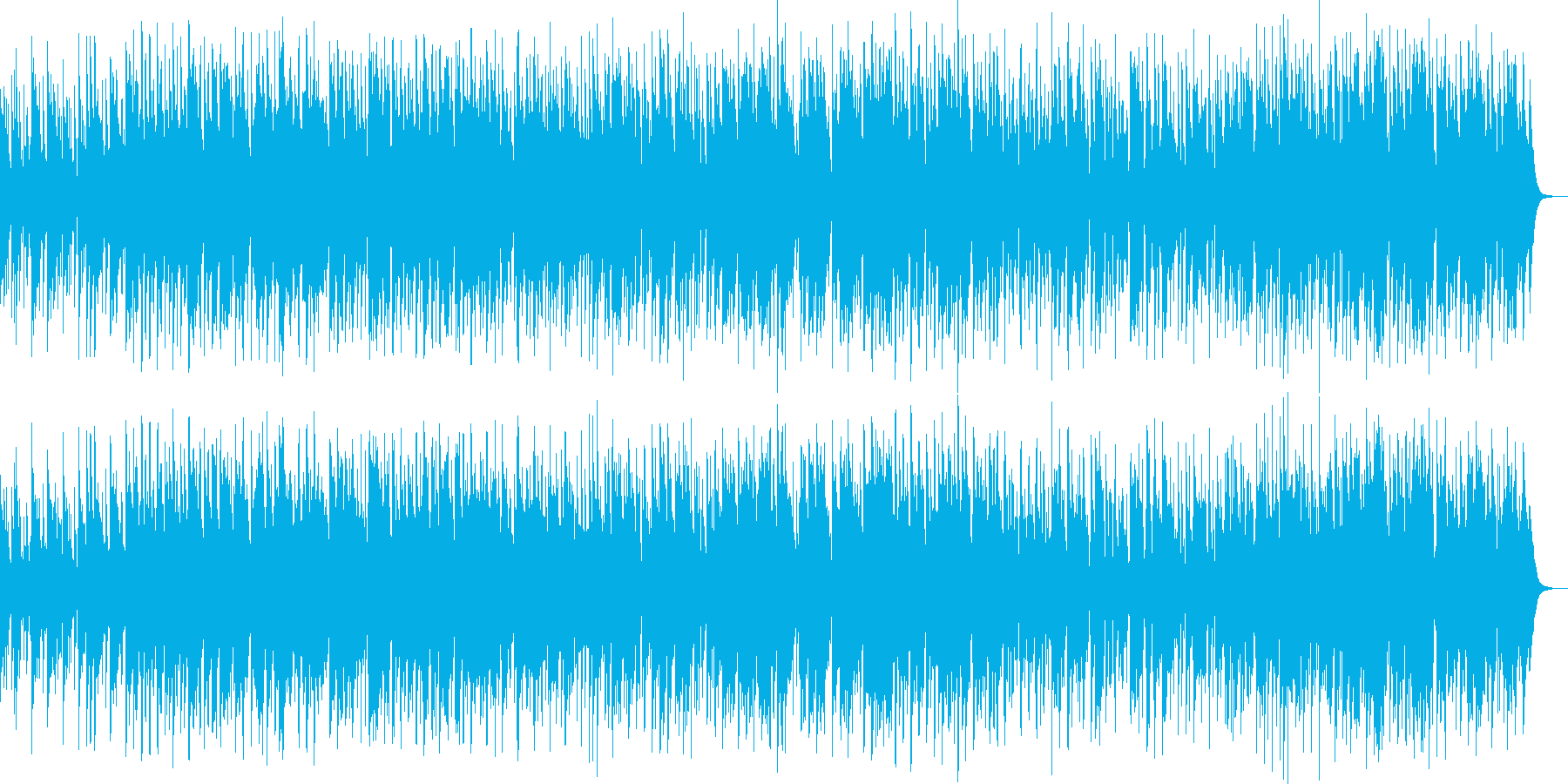 のどかな街角イメージのスロー・ジャズ の再生済みの波形